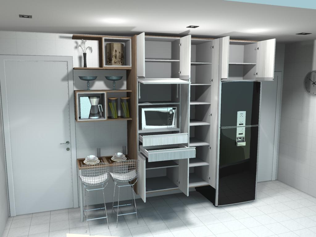 #5C4F41 Projeto para escritório 1024x768 px Desenhos De Projetos De Cozinhas Planejadas_3369 Imagens