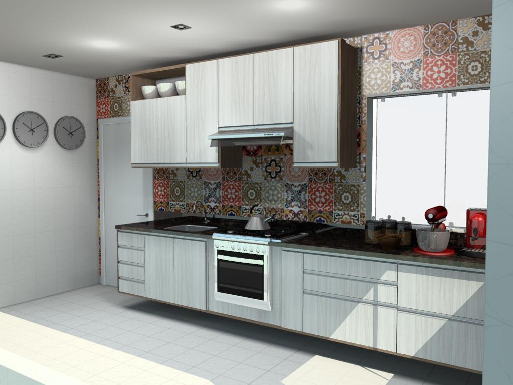 Móveis para cozinha pequena moderna  Comodità by Portela #63443A 1024 768