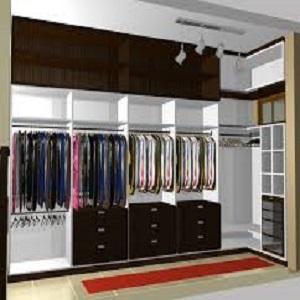 desenho de lindo closet