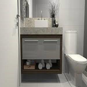 Desenho de lindo banheiro