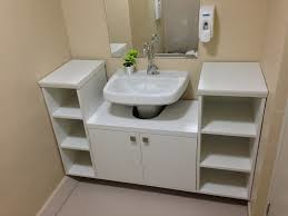 banheiros bancada simples