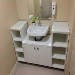 Lindo e pratico banheiro