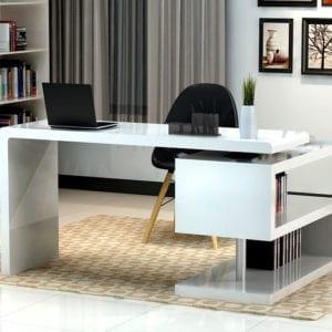 Projeto de móveis planejados para escritório