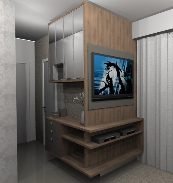Ambientes planejados lindos modelos de sala de estar - Armarios para sala de estar ...