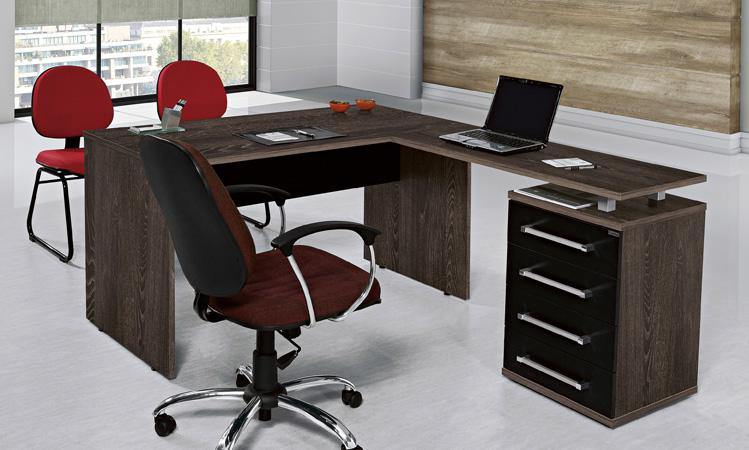 M veis planejados para escrit rio comodit modulados - Mesa escritorio l ...
